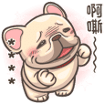 French Bulldog PIGU-Custom Stickers I