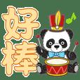 Muppet panda characters