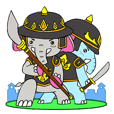 Brethren Elephant Thai Warrior