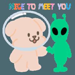 Susu&Dumdum astronaut