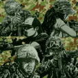 military sticker modern warfare2