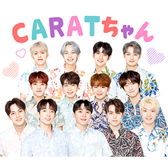 SEVENTEEN Voice Stickers