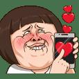Funny Girl Chiko-chan Animated 2