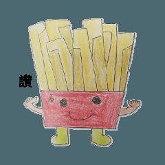 地瓜薯條人