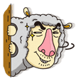 Hee hee sheep