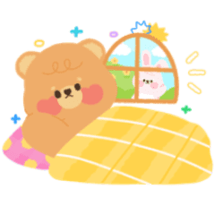 Teddy and Bunny !