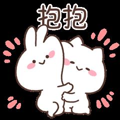 สติ๊กเกอร์ไลน์ MIMI and Neko: Happy Together