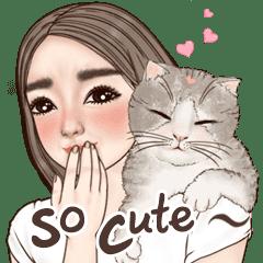 Darin Cute Girl daily (Big Sticker Eng)
