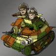 軽戦車・豆戦車スタンプ