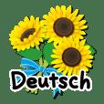 ありがとう花が咲くよ ドイツ語版