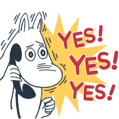 Moomin Intense Stickers