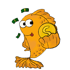 Alpha & Gamma Gold Fish
