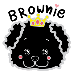 Brownie la noir