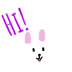 白色小兔兔の常用語錄