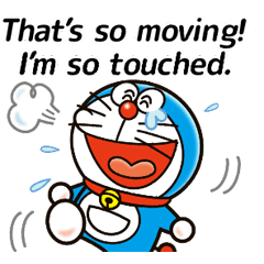 Doraemon Returns: Catchphrase Stickers