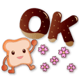 Cute toast-super practical greetings