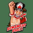 Pace dan Mace Papua (Animasi)