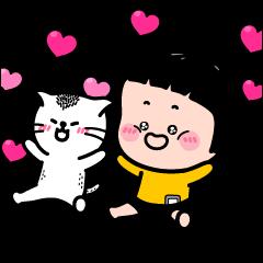 สติ๊กเกอร์ไลน์ Catch MiM's Heart!