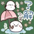 まるいやつらとトリさん☆夏・お天気