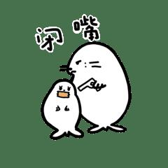 ぽよぽよ海豹の日常②