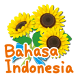 Thanks with flowers (Bahasa Indonesia)