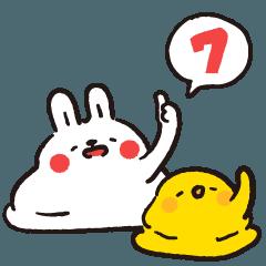 懶散兔與啾先生的OS人生 7