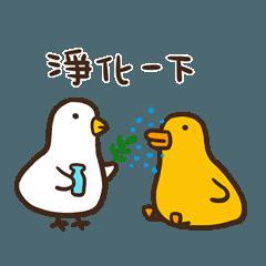 伸縮自如的雞與鴨2咕咕與呱呱