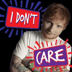 สติ๊กเกอร์ไลน์ Ed Sheeran: No. 6 Collaborations