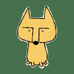 多分、猫。もしくは狐。