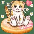 やさしい子猫のポップアップ4【敬語】