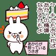 Akari's rabbit