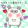 Mr.Nagaki,exclusive Sticker.