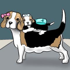 享受小獵犬(家庭)