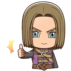 DRAGON QUEST XI S Stickers