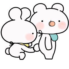 緩緩×甜心♡北鼻熊兔寶