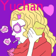 Yuchan only sticker!