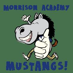 台中馬禮遜美國學校的野馬!