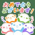 5色パンダ(敬語)