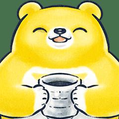 黃色懶熊的日常與防疫