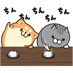 Plump Dog & Plump Cat Animated Stickers