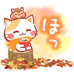 A lot of cats. Warm & Fuzzy Stickers