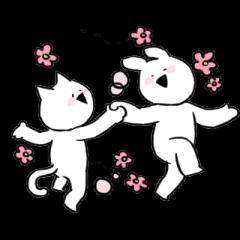 Extremely Rabbit&Cat Animated(korean)