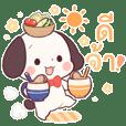 หมามาเมะชิบะ โคโระ สติกเกอร์ใช้ได้ทุกวัน