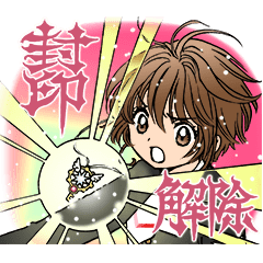 CLAMP 30th Anniversary Stickers