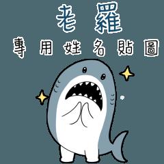 老羅,這是你的伊逆鯊白一世鯊魚貼圖