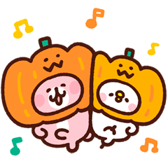 Piske & Usagi's Heartwarming Stickers