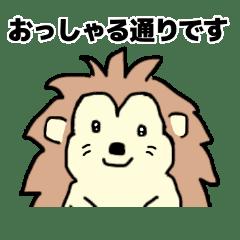ハリーちゃんは言葉上手【敬語・丁寧語】