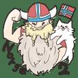 mofumofu Norwegian Sticker2
