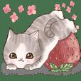 癒しの猫スタンプ デカ文字編