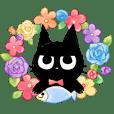 黒猫コックン